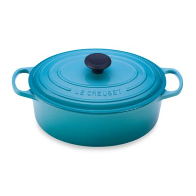 Le Creuset® Signature 5 qt. Oval French Oven in Caribbean