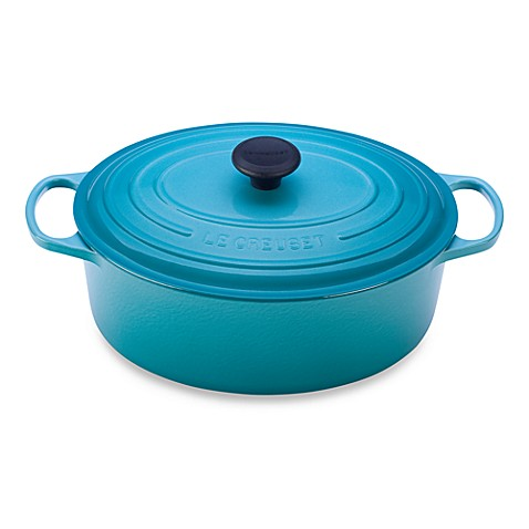 Le Creuset® Signature 6.75 qt. Oval French Oven in Caribbean