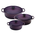 Le Creuset® Signature Oval French Ovens in Cassis