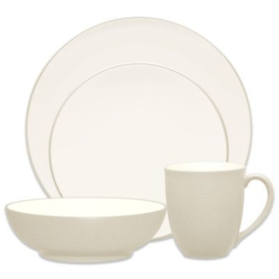Colorwave Cream 4-Piece Place Setting