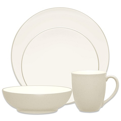 Noritake® Colorwave Coupe Dinnerware 4-Piece Place Setting in Cream
