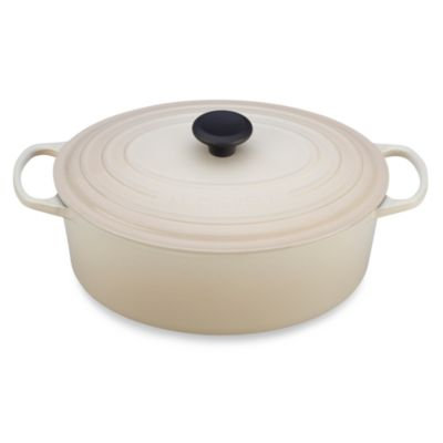 Le Creuset® 6 3/4-Quart Signature Oval French Oven in Dune