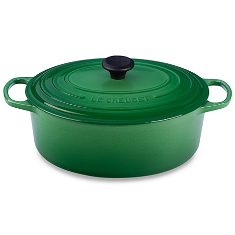 Le Creuset® 6 3/4-Quart Signature Oval French Oven in Fennel