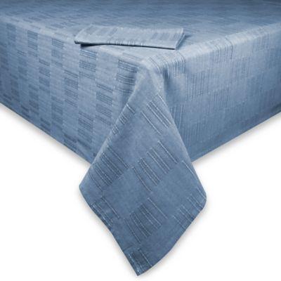 Dansk® Matera 60-Inch x 120-Inch Tablecloth in Denim