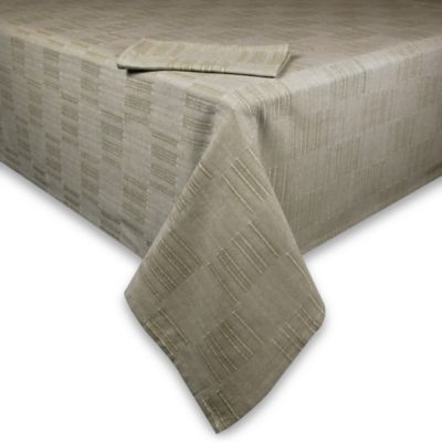 Dansk® Matera 60-Inch x 102-Inch Tablecloth in Bark