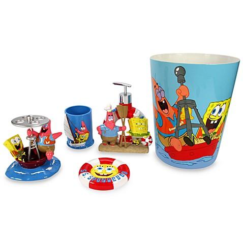 spongebob squarepants bath ensemble buybuy baby