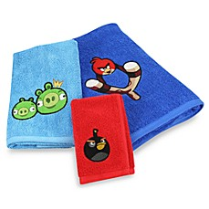 Angry Birds™ Bath Towels, 100% Cotton