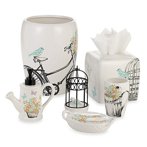 Laura Ashley® Birds and Branches Bath Ensemble