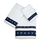 Criss Cross Bath Towels, 100% Cotton
