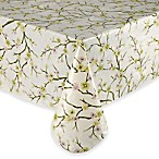 Cherry Blossom Vinyl Tablecloth