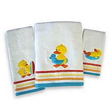 Quackers Bath Towels, 100% Cotton