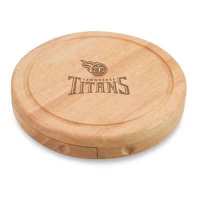 Picnic Time® Tennessee Titans Brie Cheese Board Set