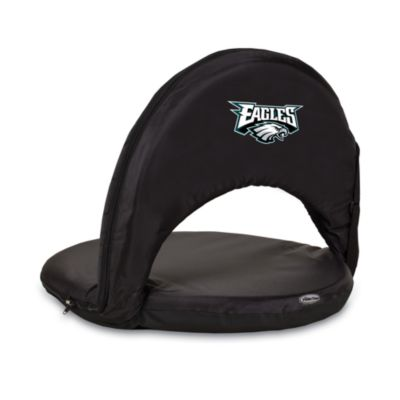 Picnic Time® Philadelphia Eagles Oniva Portable Reclining Seat in Black