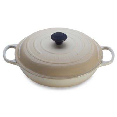 Le Creuset® Dune 3 1/2-Quart Enameled Cast Iron Braiser