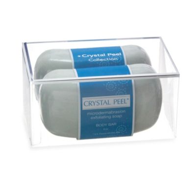 Crystal Peel™ Microdermabrasion Exfoliating Soap Body Bar (Set of 2)