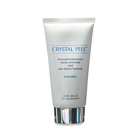 Crystal Peel™ Microdermabrasion Exfoliator and Pre-Shave Formula