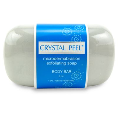 Crystal Peel™ Microdermabrasion Exfoliating Soap Body Bar