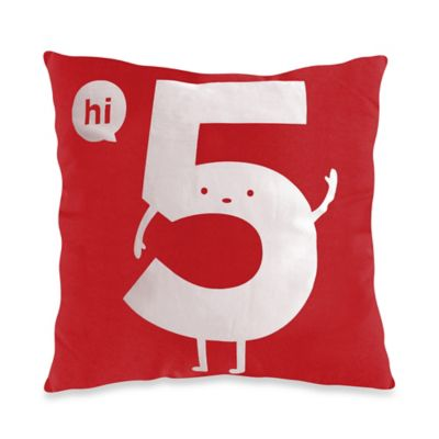 Threadless Hi 5 Toss Pillow