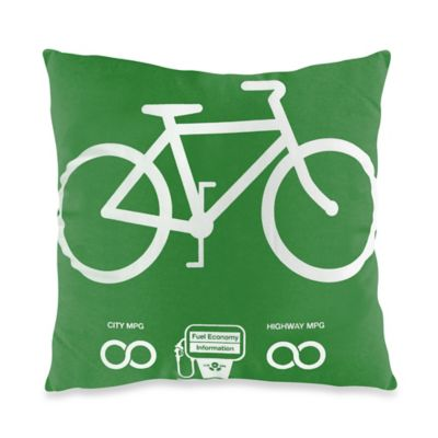 Threadless Infinity MPG Toss Pillow