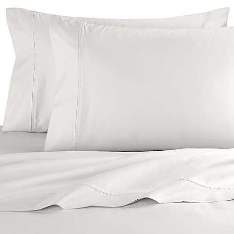 SHEEX®  Performance Cotton Standard Pillowcases in White (Set of 2)
