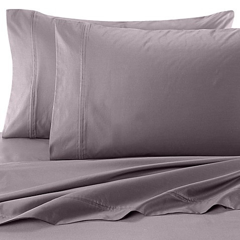SHEEX® Performance Cotton King Pillowcases in Pewter (Set of 2)