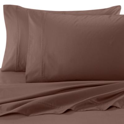 SHEEX®  Performance Cotton Queen Sheet Set in Coffee