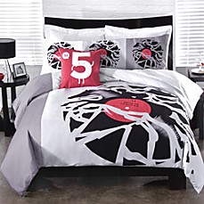 Threadless Disc Jockey Duvet Cover Collection