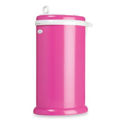Ubbi® Diaper Pail in Hot Pink