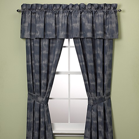 Tommy Bahama® Home Indigo Ombre Window Curtain 84