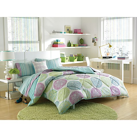 Steve Madden Stella Twin/Extra Long Twin Complete Bed Set
