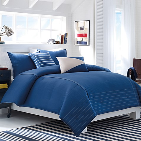 Nautica Crew Solid Bed Set Bed Bath Beyond