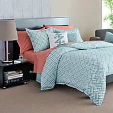 IZOD Basketweave Mini Comforter Set