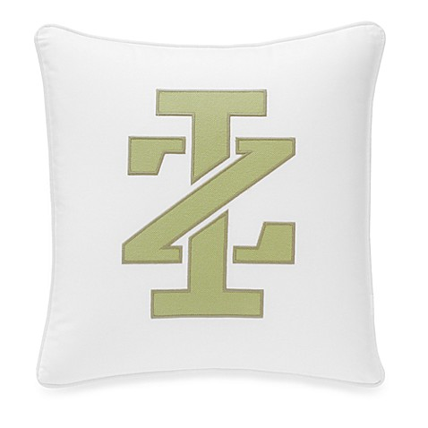 IZOD Horizon Logo Square Toss Pillow