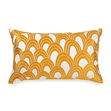 Trina Turk Ogee Butterfly Embroidered Toss Pillow