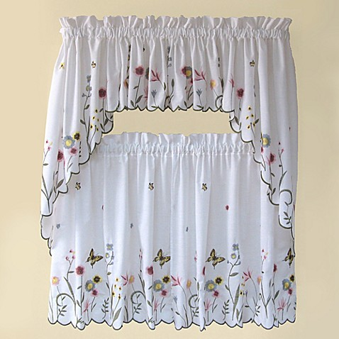 Owl Kitchen Curtain Set