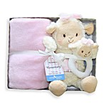 Living Textiles Baby Plush Buddy 'Rosemary' Lamb Gift Set