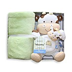 Living Textiles Baby Plush Buddy 'Moomu' Cow Gift Set