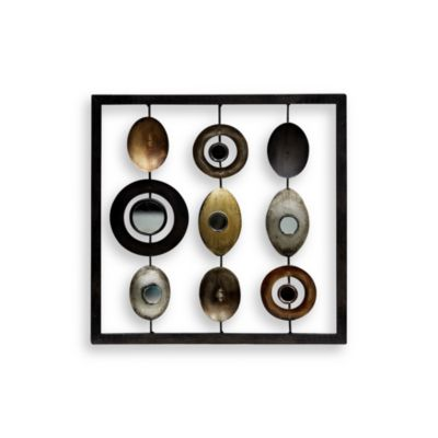 Metal Wall Art Mirror
