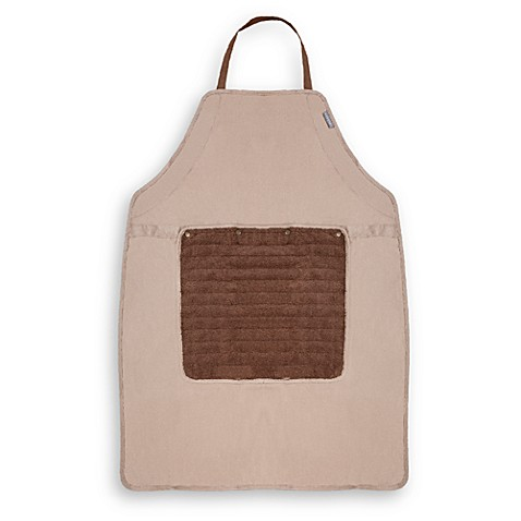 Microdry® Do-It-All Apron with Detachable Towel in Linen