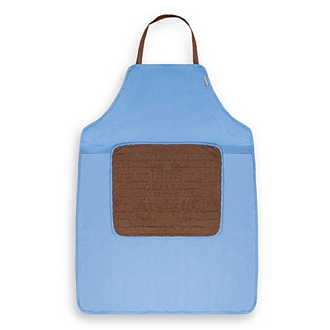 Microdry® Do-It-All Apron with Detachable Towel in Blue