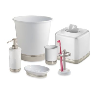 York Matte White Lotion Dispenser