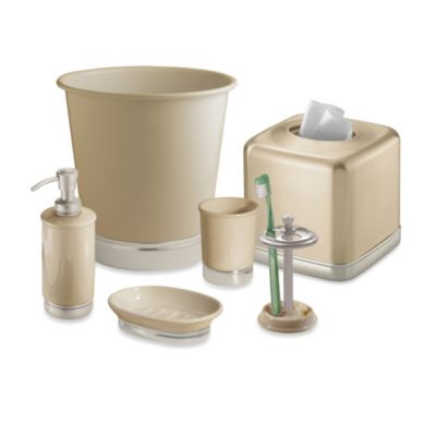 Interdesign® York Matte Linen Lotion Dispenser