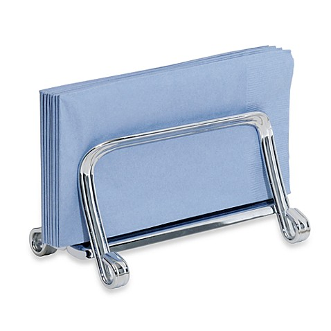 Interdesign York Guest Towel Squeeze in Chrome