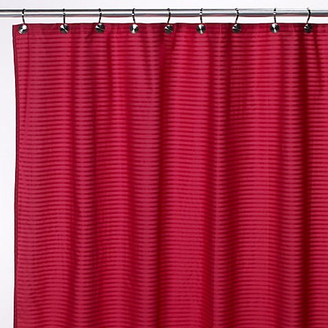 Buy Aqua Tec Fabric Shower Curtain Liner In Fuschia From