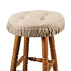 Bahama Bar Stool Cover in Wheat