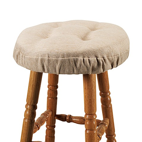 Klear Vu Bahama Barstool Cover in Wheat