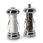 Olde Thompson Lucite & Chrome Salt & Pepper Set