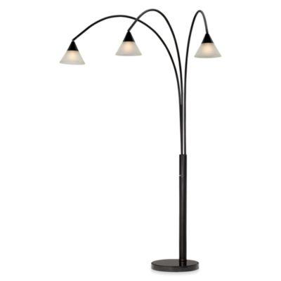 Pacific Coast Lighting® Archway 3-Light Dark Bronze Floor Lamp