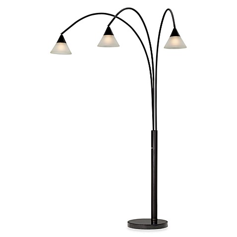 Pacific Coast Lighting® Archway 3-Light Dark Bronze Floor Lamp