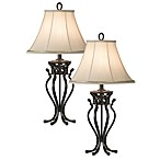 Kathy Ireland Home Helsinki Palace Table Lamps (Set of 2)